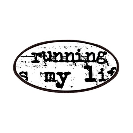 Running is my life Patches