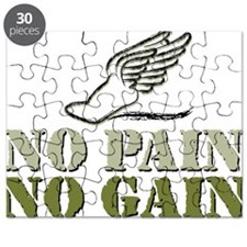 No Pain No Gain Track Puzzle
