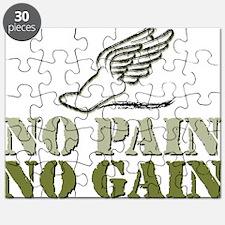 No Pain No Gain Track Puzzle