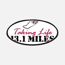 Taking Life 13.1 miles Patches
