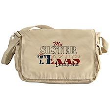 My Sister in TX Messenger Bag