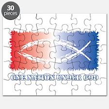 One Nation God Puzzle
