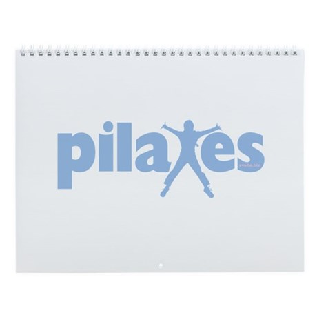PIlates Baby Blue by Svelte.biz Wall Calendar