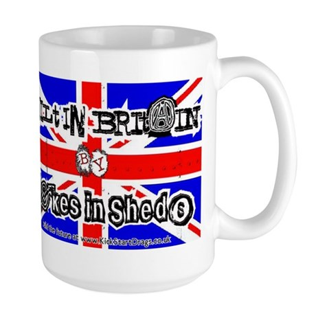 Blokes in Sheds Large Mug