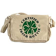 Certified Irish Hottie Messenger Bag