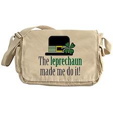 Leprechaun made me Messenger Bag