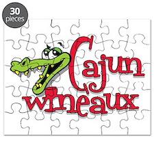 Cajun Wineaux gator Puzzle
