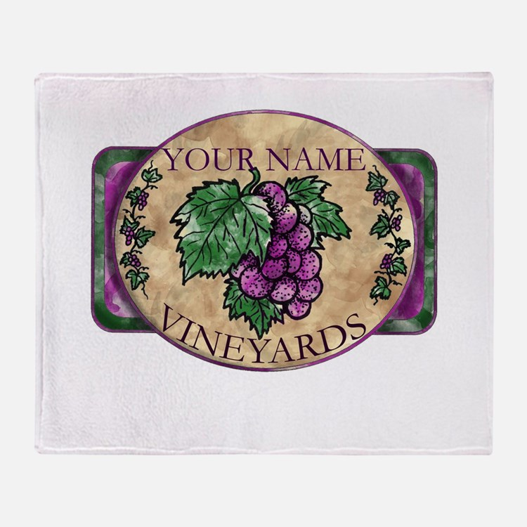 Your Vineyard Throw Blanket