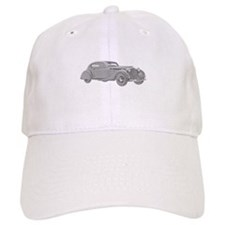 Delage Aerosport Coupe 1937 - Black Baseball Cap
