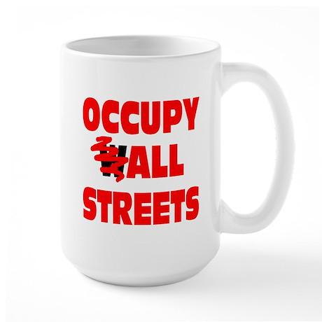 Occupy All Streets Large Mug