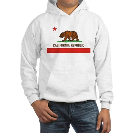 California State Bear Flag Hooded Sweatshirt