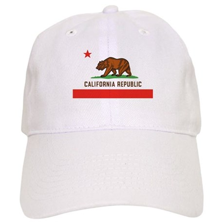 California State Bear Flag Cap