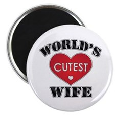 World's Cutest Wife Magnet