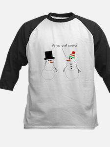 Snowman Smells Carrots Tee