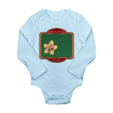 Whoops Star - Christmas Star Long Sleeve Infant Bo