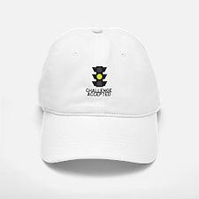 Challenge Accepted Yellow Lig Baseball Baseball Cap