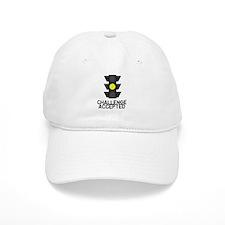 Challenge Accepted Yellow Lig Baseball Cap