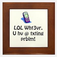 LOL Wht3ver Framed Tile