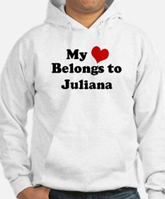 My Heart: Juliana Hoodie Sweatshirt