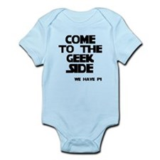 Come To Geek Side Infant Bodysuit