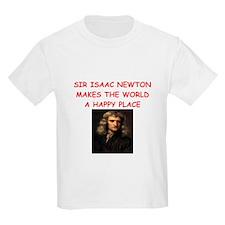 sir isaac newton T-Shirt