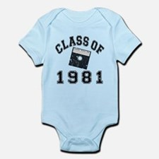 Class Of 1981 Computer Science Infant Bodysuit