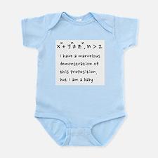 Baby Fermat Onesie