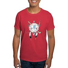 Indian Buffalo Skull T-Shirt