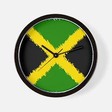 Flag of Jamaica Wall Clock