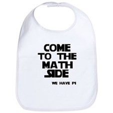 Come to the math side Bib