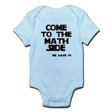 Come to the math side Infant Bodysuit