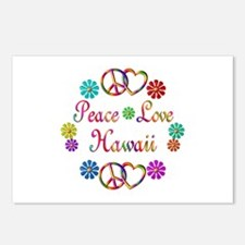 Peace Love Hawaii Postcards (Package of 8)