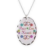 Peace Love Hawaii Necklace