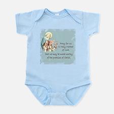 Pray for Us Infant Bodysuit