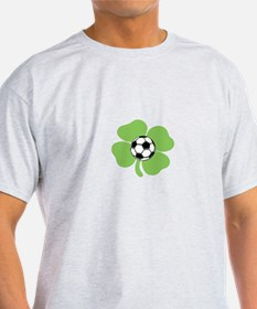 4 leaf soccer ball T-Shirt