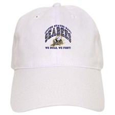 US Navy Seabees Blue and Gold Baseball Cap