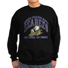 US Navy Seabees Blue and Gold Sweatshirt