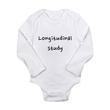 Longitudinal study Long Sleeve Infant Bodysuit