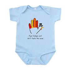 Hand Turkeys Taste The Same Infant Bodysuit