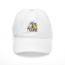 Hope Love Cure Bladder Cancer Baseball Cap