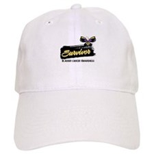 Bladder Cancer Survivor Baseball Cap