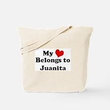 My Heart: Juanita Tote Bag