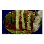 Birch Tree Delight Gifts Sticker (Rectangle 10 pk)