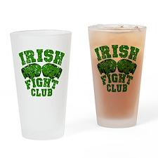 Irish Fight Club Drinking Glass
