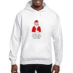 Grumpy Santa Hooded Sweatshirt