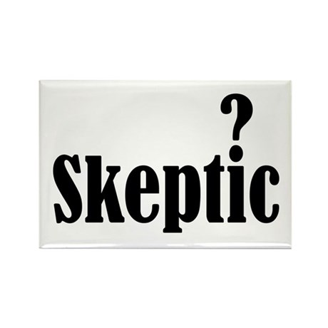 Skeptic Rectangle Magnet (10 pack)