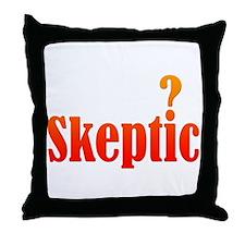 Skeptic Throw Pillow