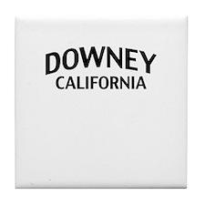 Downey California Tile Coaster