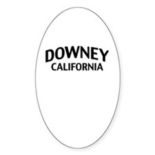 Downey California Decal