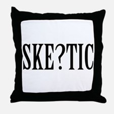 Skeptic Throw Pillow